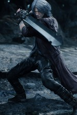 Diabo pode chorar 5, espada