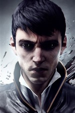 Preview iPhone wallpaper Dishonored 2, video game, man