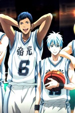Preview iPhone wallpaper Kuroko's Basketball