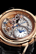 Preview iPhone wallpaper Louis Moinet wrist watch