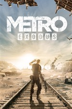 Preview iPhone wallpaper Metro Exodus, 4A Games