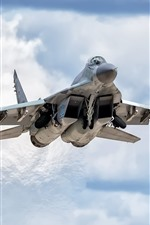 Preview iPhone wallpaper MiG-29SMT fighter