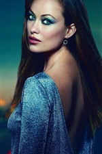 Preview iPhone wallpaper Olivia Wilde 07