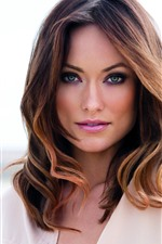 Preview iPhone wallpaper Olivia Wilde 08