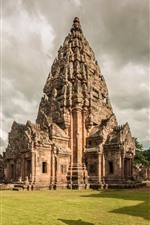 Preview iPhone wallpaper Phanom Rung historical park, temple, Thailand