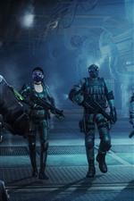 Resident Evil, soldados, Video Game