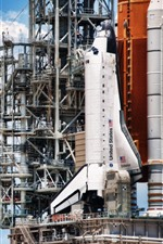 Spaceship, launching, USA
