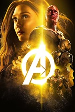Preview iPhone wallpaper The Avengers, superheroes, Marvel movie, black background