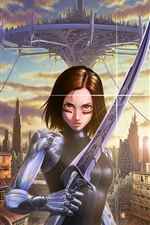 Alita: Battle Angel, art picture