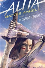 Alita: Battle Angel, girl, sword