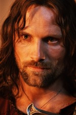 Preview iPhone wallpaper Aragorn, Lord of the Rings