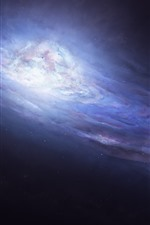 Galaxy, space, art picture
