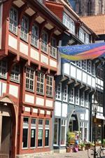 Germany, Gottingen, street, city, buildings