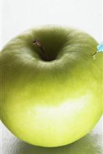 iPhone壁紙のプレビュー グリーンアップル、注射針