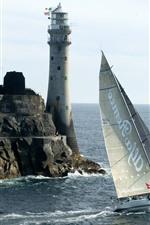 Farol, navigação, mar