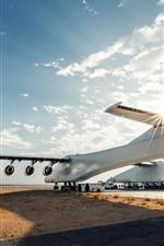 N351SL Aeronave, nuvens, sol