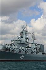 Russia, missile cruiser