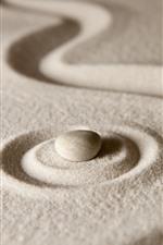 Sands, stone, still life