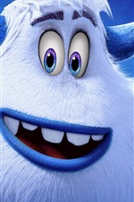 Preview iPhone wallpaper Smallfoot, 3D cartoon movie