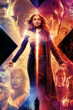 Preview iPhone wallpaper Sophie Turner, X-Men: Dark Phoenix