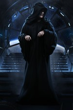 Preview iPhone wallpaper Star Wars, Emperor Palpatine
