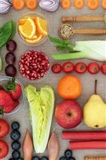 미리보기 iPhone 배경 화면 정물화, 채소 및 과일