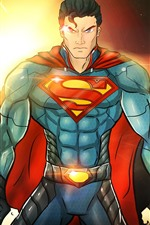 Preview iPhone wallpaper Superman, superhero, DC comics