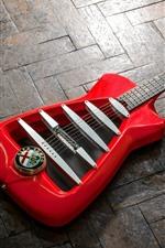 Preview iPhone wallpaper Alfa Romeo, guitar