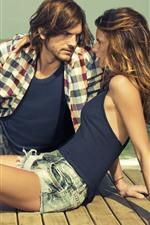 Ashton Kutcher and girl