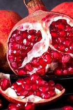 Delicious fruit, pomegranate