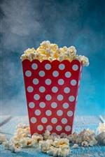 Preview iPhone wallpaper Food, popcorn