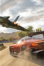 Preview iPhone wallpaper Forza Horizon 4, Aston Martin supercar speed