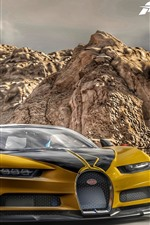 Forza Motorsport 7, Bugatti yellow supercar