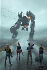 Preview iPhone wallpaper Generation Zero, PC game