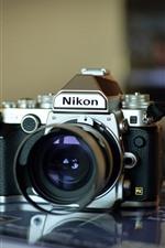 Preview iPhone wallpaper Nikon digital camera