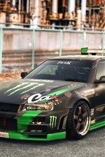 Preview iPhone wallpaper Nissan Skyline GT-R car