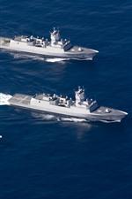 Norwegian Navy frigates