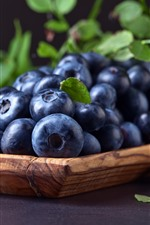Some blueberries, fruit, berries