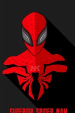 Preview iPhone wallpaper Spider-man, DC comics hero