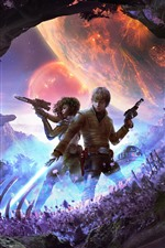 Preview iPhone wallpaper Star Wars: Heir To The Jedi, art picture
