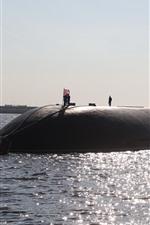 Vorschau des iPhone Hintergrundbilder U-Boot, Meer, Großbritannien
