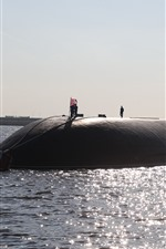 Submarine, sea, UK