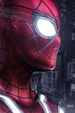 Preview iPhone wallpaper Superhero, Spider-Man