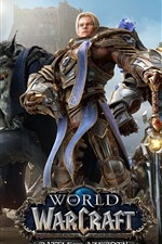 Preview iPhone wallpaper World of Warcraft: Battle for Azeroth, online games