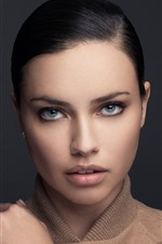 Preview iPhone wallpaper Adriana Lima 10