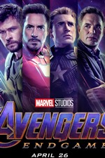 Preview iPhone wallpaper Avengers: Endgame, superheroes, movie 2019