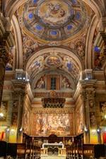 Church, Rome, Italy, hall