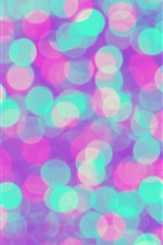 Colorful light circles, abstract background