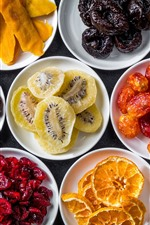 Dried fruits, delicious food