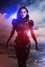 Preview iPhone wallpaper Emilia Clarke, Halo